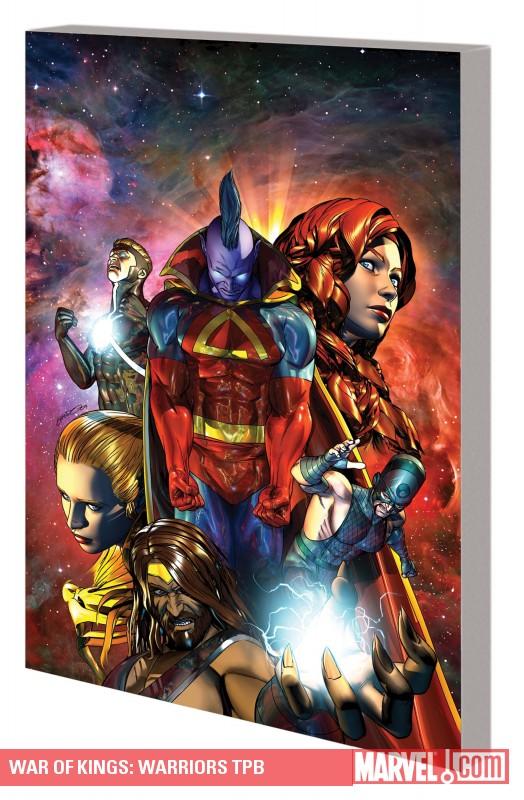 War of Kings: Warriors (Trade Paperback)
