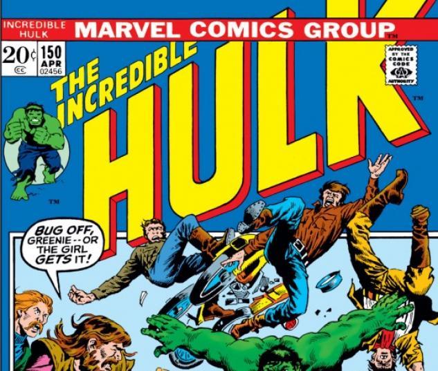 INCREDIBLE HULK #150 COVER