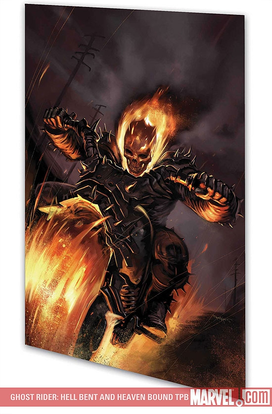 GHOST RIDER: HELL BENT AND HEAVEN BOUND TPB (Trade Paperback)
