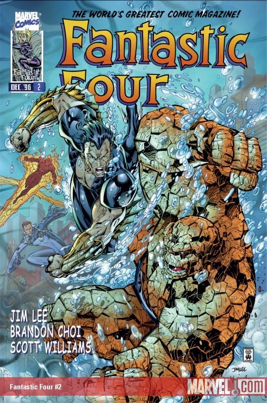 Fantastic Four (1996) #2