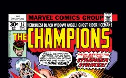 CHAMPIONS #12 COVER