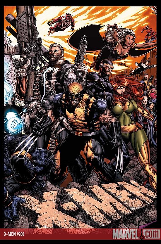 X-Men (2004) #200 (David Finch Gatefold Variant)
