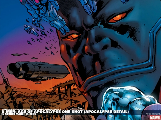 X-Men: Age of Apocalypse One Shot #1 variant cover by Bryan Hitch