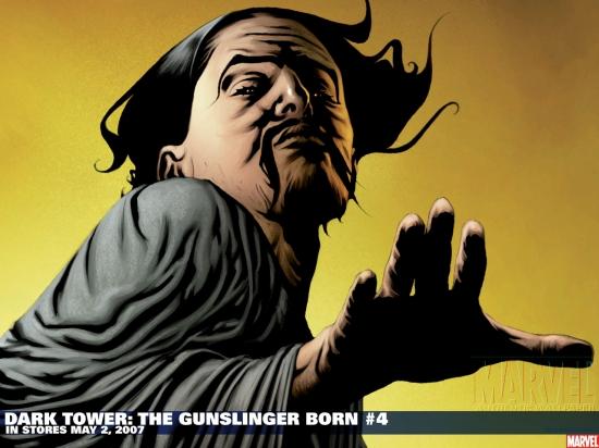 Dark Tower: The Gunslinger Born (2007) #4 (JAE LEE SKETCH VARIANT) Wallpaper
