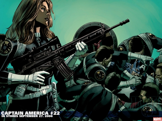 Captain America (1998) #22 Wallpaper