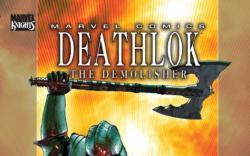 DEATHLOK #7 Cover by Brandon Peterson