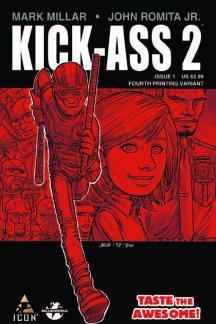 Kick-Ass 2 (2010) #1 (4th Printing Variant)
