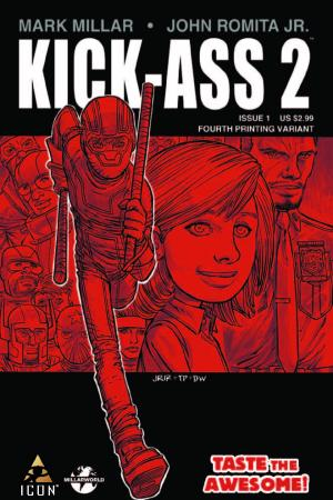 Kick-Ass 2 (2010) #1 (4th Printing Variant)