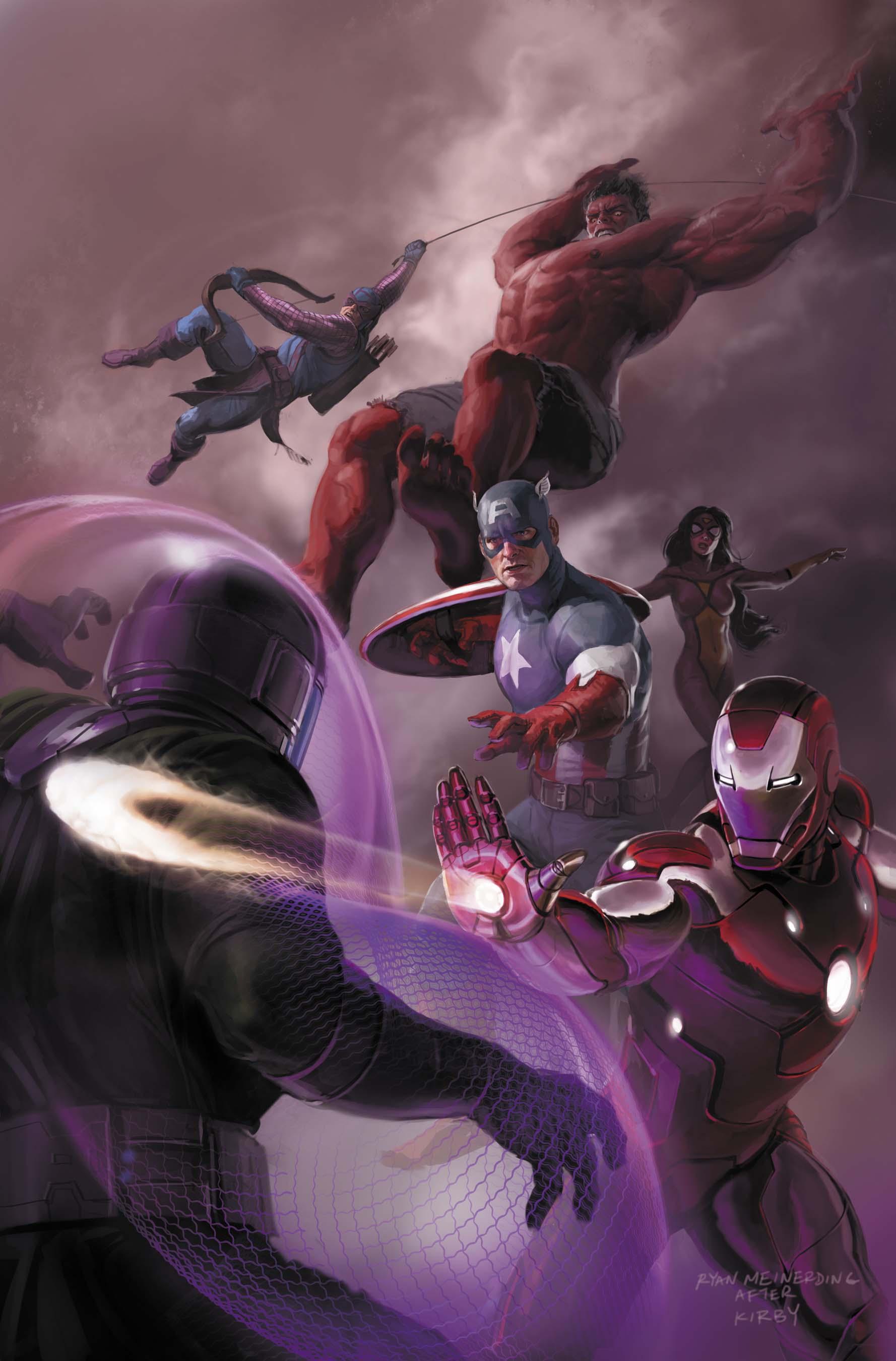 Avengers (2010) #18 (Mc 50th Anniversary Variant)