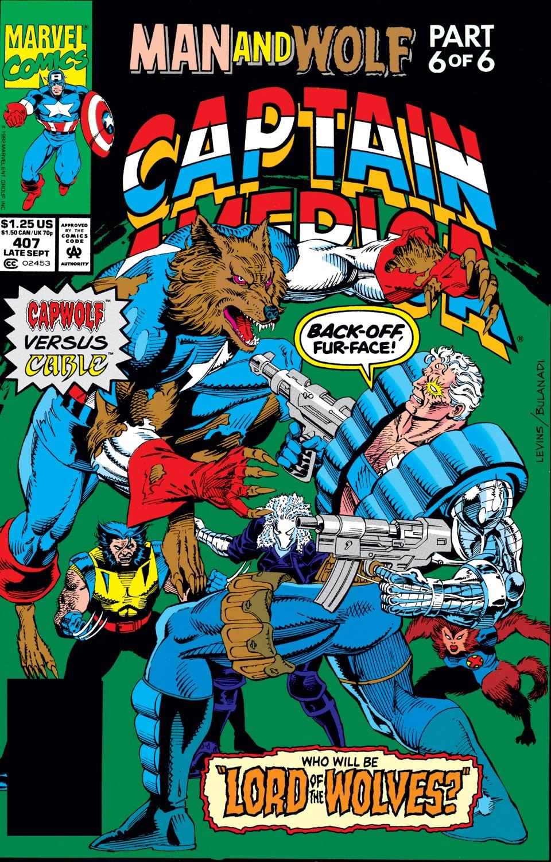 Captain America (1968) #407