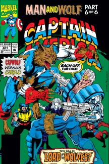 Captain America #407