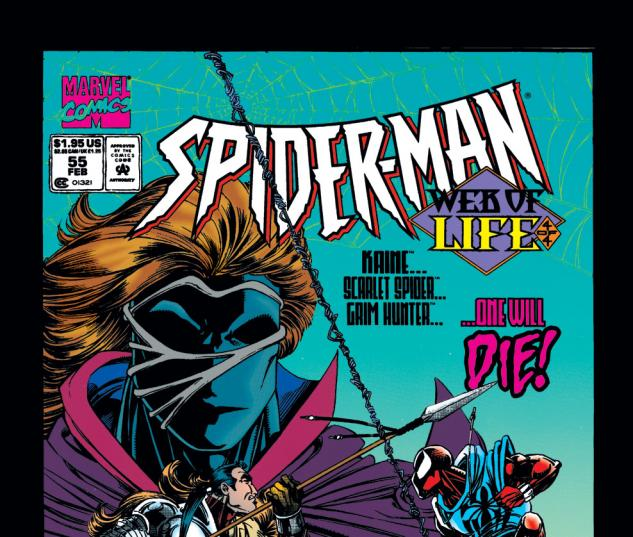 Spider-Man (1990) #55 Cover