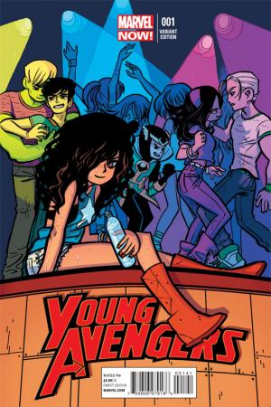 Young Avengers (2013) #1 (O'Malley Variant)