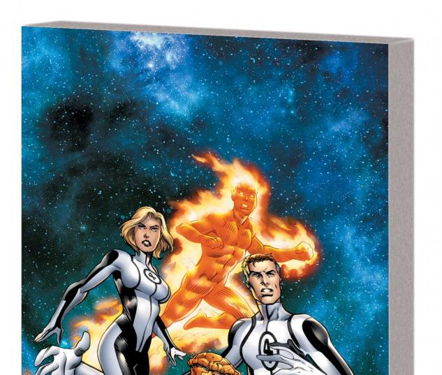 FANTASTIC FOUR VOL. 1: NEW DEPARTURE, NEW ARRIVALS TPB