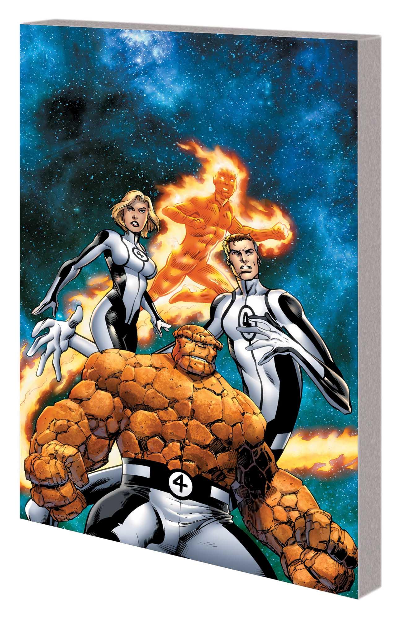 Fantastic Four Vol. 1: New Departure, New Arrivals (Trade Paperback)
