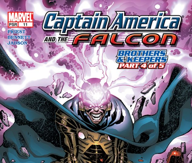 Captain America and the Falcon (2004) #11