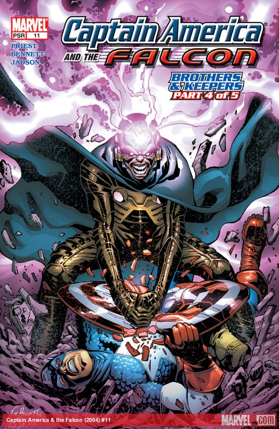 Captain America & the Falcon (2004) #11