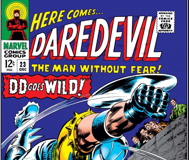 DAREDEVIL (1964) #23 Cover
