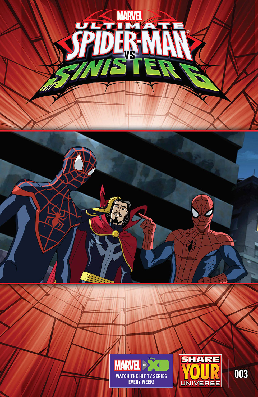 Marvel Universe Ultimate Spider-Man Vs. the Sinister Six (2016) #3
