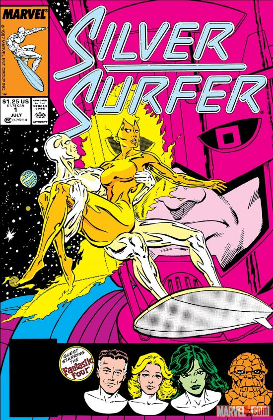 Silver Surfer (1987) #1