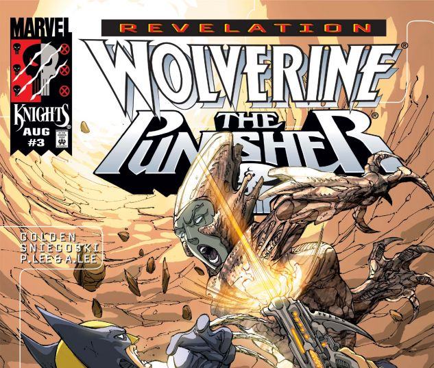 Cover for WOLVERINE/PUNISHER: REVELATION #3