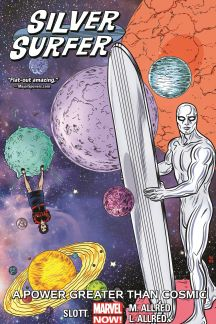 Silver Surfer Vol. 5: A Power Greater Than Cosmic (Trade Paperback)