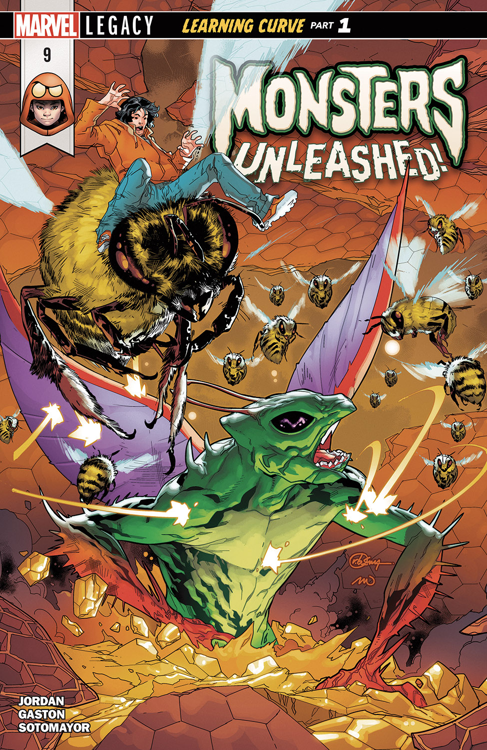 Monsters Unleashed (2017) #9