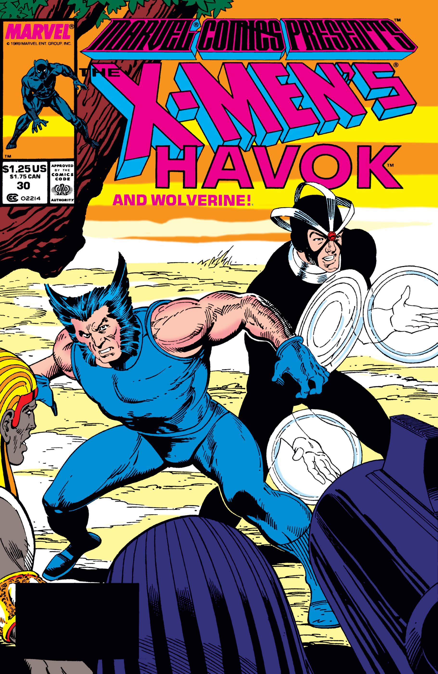 Marvel Comics Presents (1988) #30
