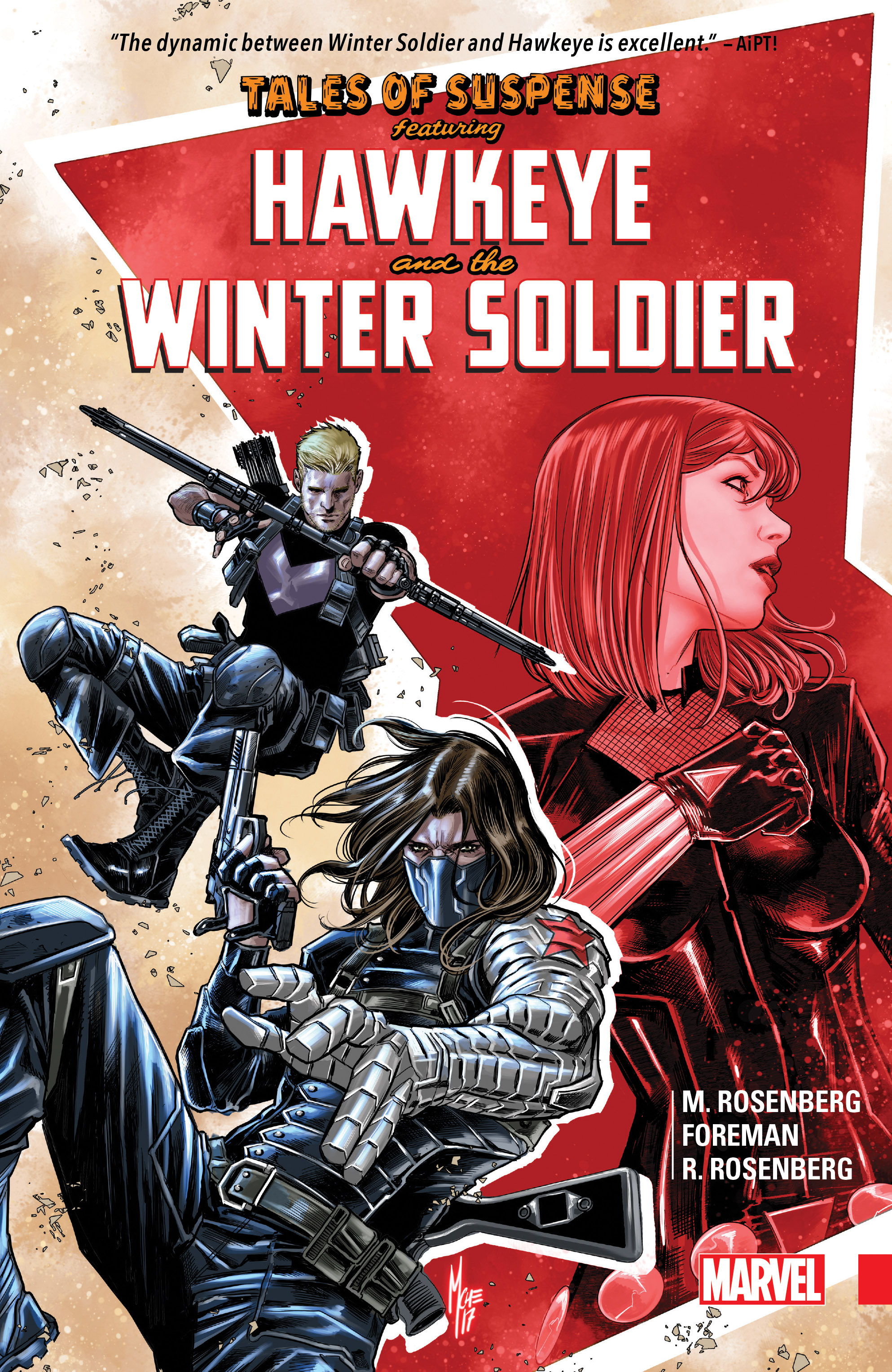 Tales of Suspense: Hawkeye & The Winter Soldier (Trade Paperback)
