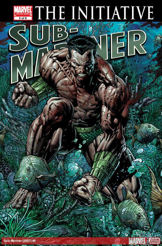 Sub-Mariner (2007) #5