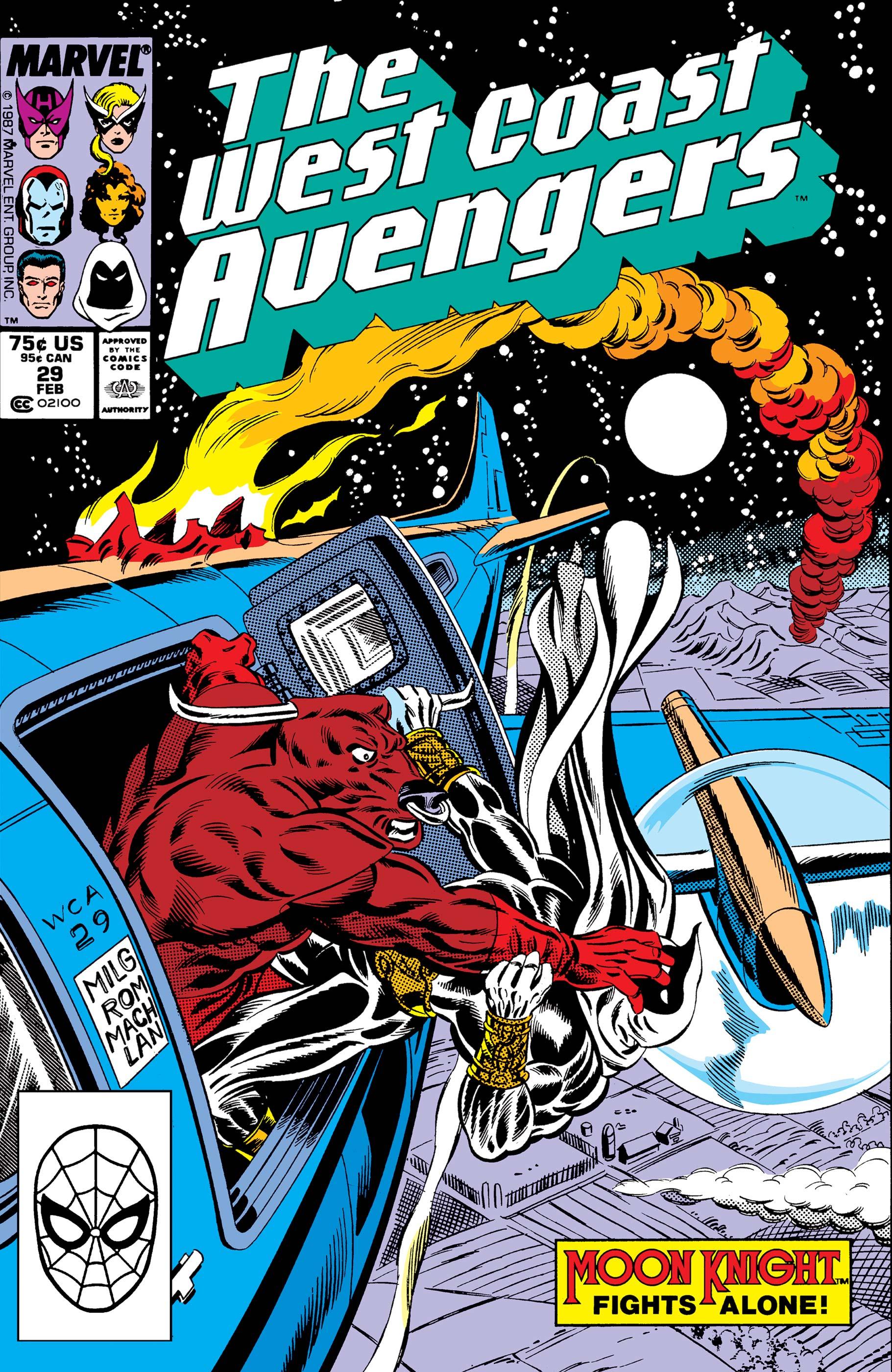 West Coast Avengers (1985) #29