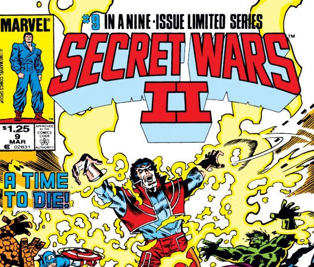 SECRET WARS II (1985) #9