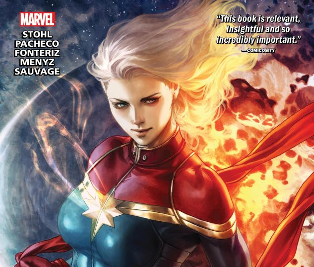 cover from THE LIFE OF CAPTAIN MARVEL TPB (2019) #1