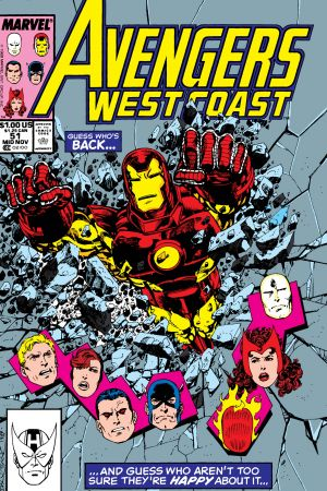 West Coast Avengers #51