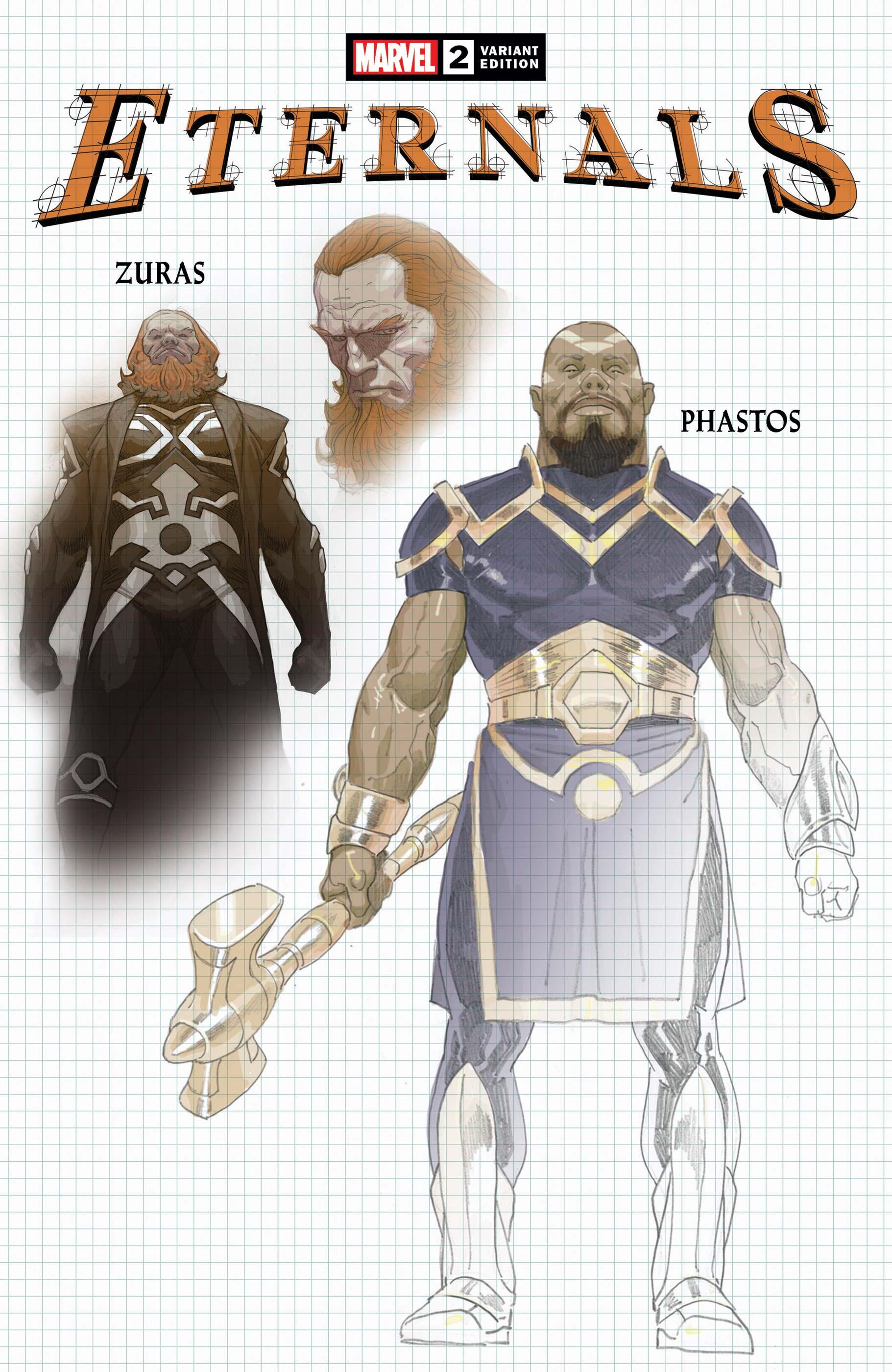 Eternals (2021) #2 (Variant)