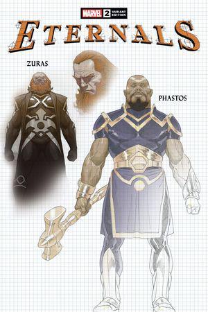 Eternals #2  (Variant)