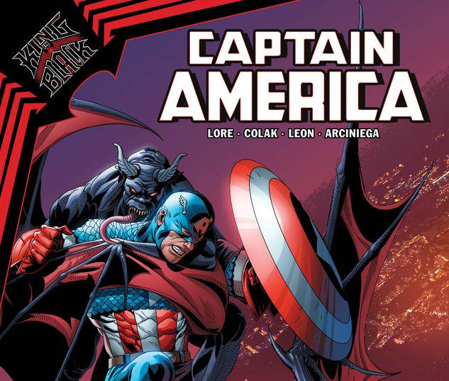 KING IN BLACK: CAPTAIN AMERICA 1 #1