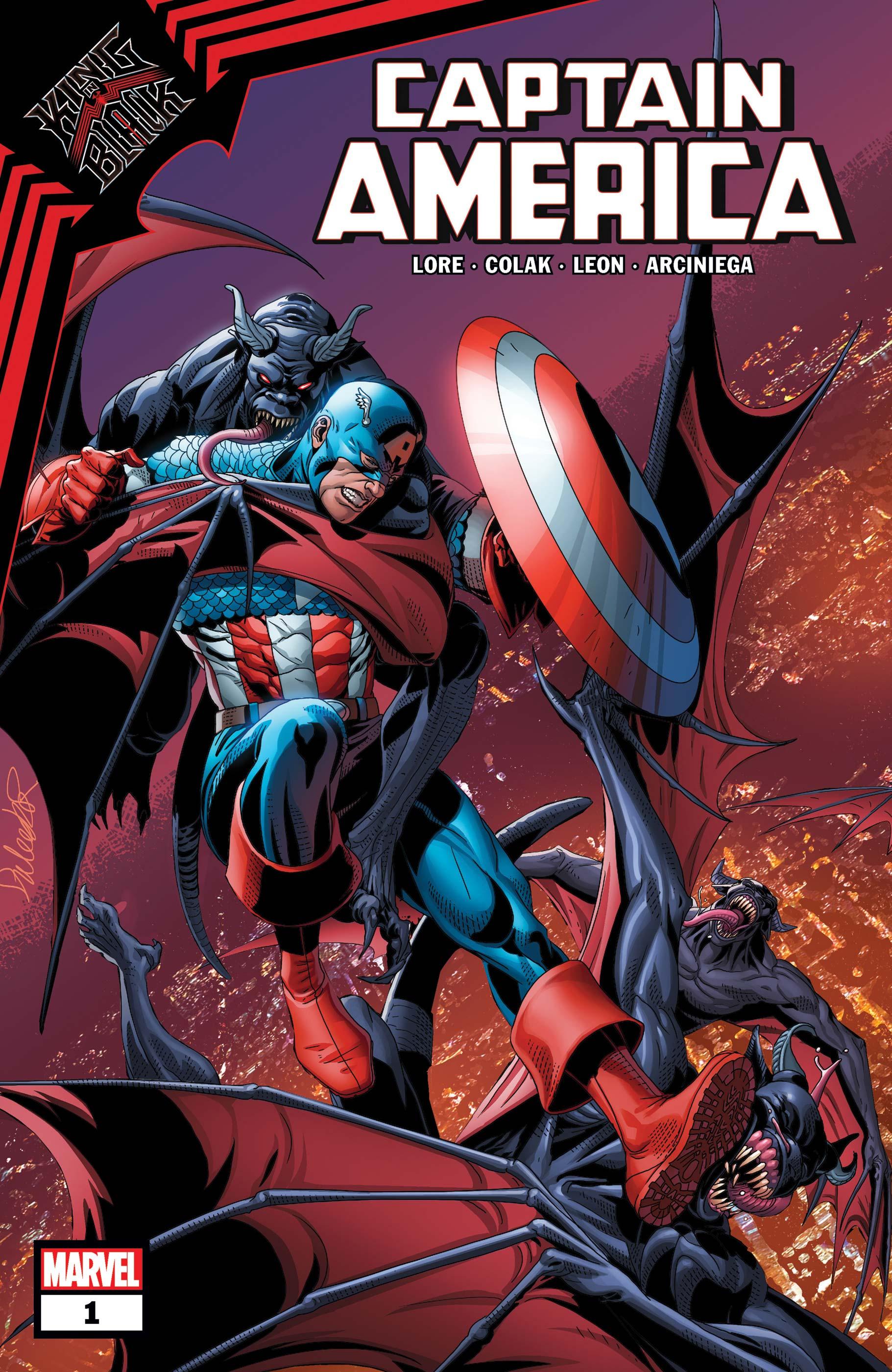 King in Black: Captain America (2021) #1