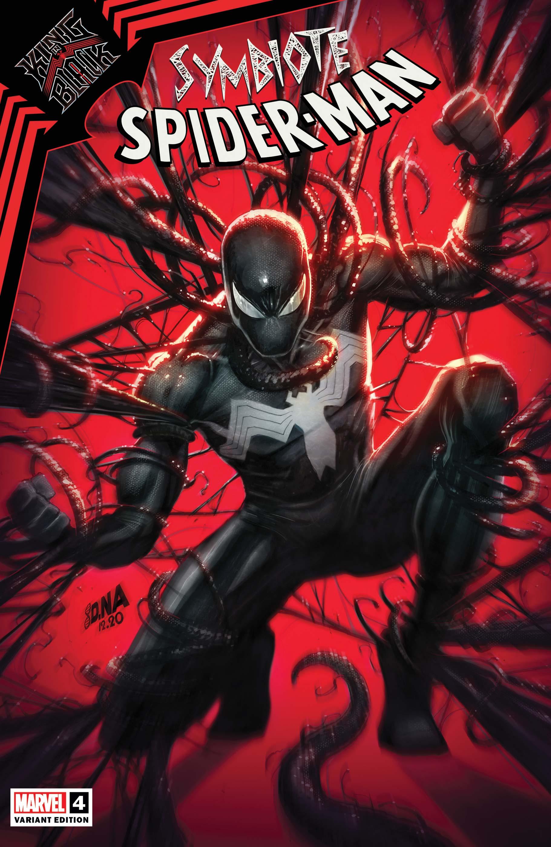 Symbiote Spider-Man: King in Black (2020) #4 (Variant)