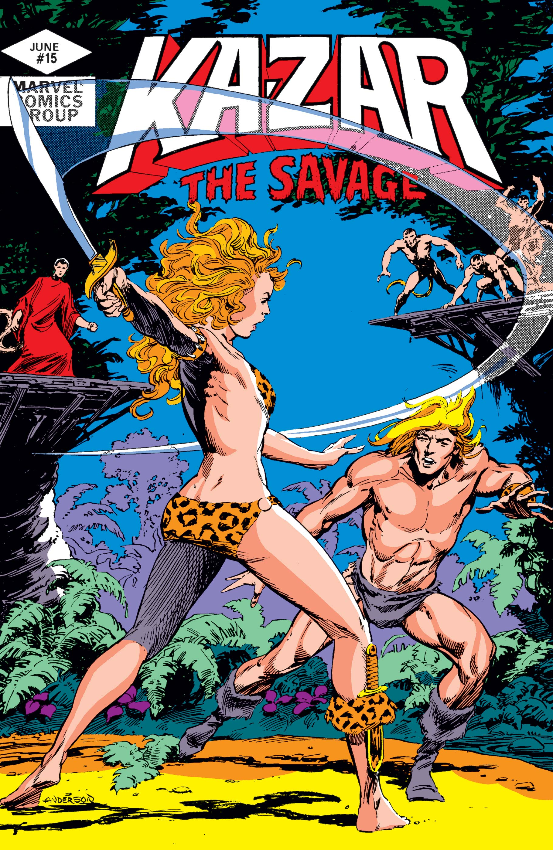 Ka-Zar (1981) #15