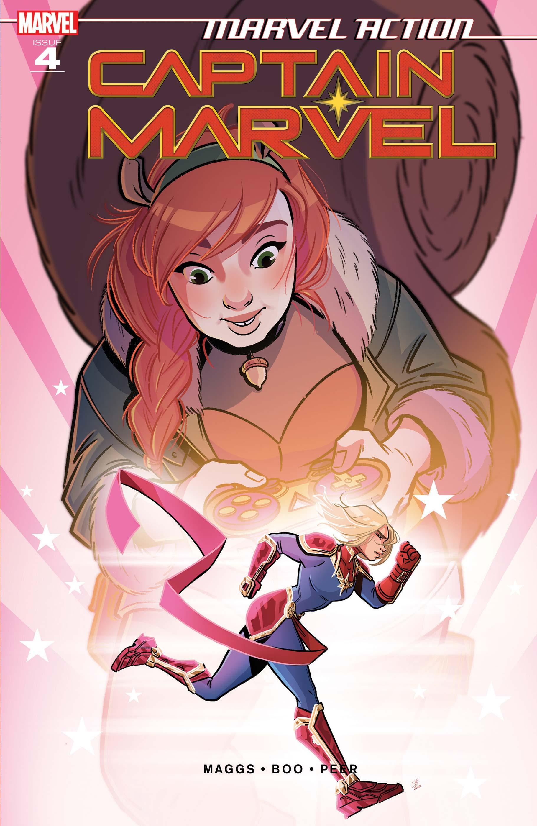 Marvel Action Captain Marvel (2021) #4