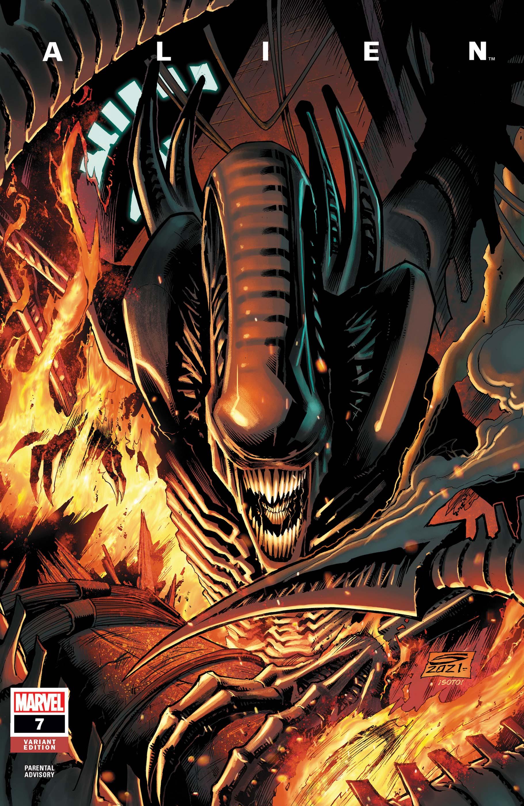 Alien (2021) #7 (Variant)