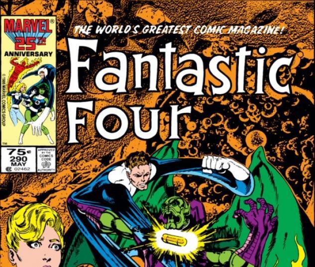 FANTASTIC FOUR #290