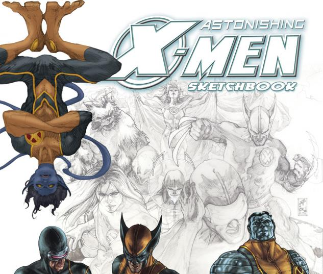 ASTONISHING X-MEN SKETCHBOOK SPECIAL #0