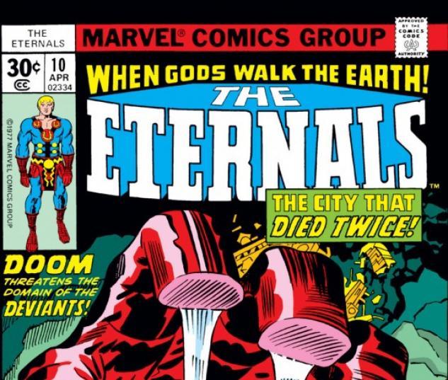 ETERNALS #10 COVER