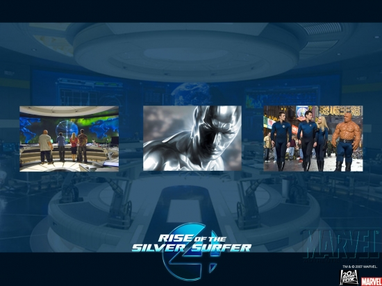 Fantastic Four: Rise of the Silver Surfer Collage