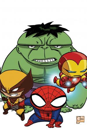 Avengers Assemble (2012) #9 (Quesada Variant)