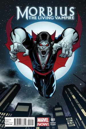 Morbius: The Living Vampire (2013) #1 (Mcguinness Variant)