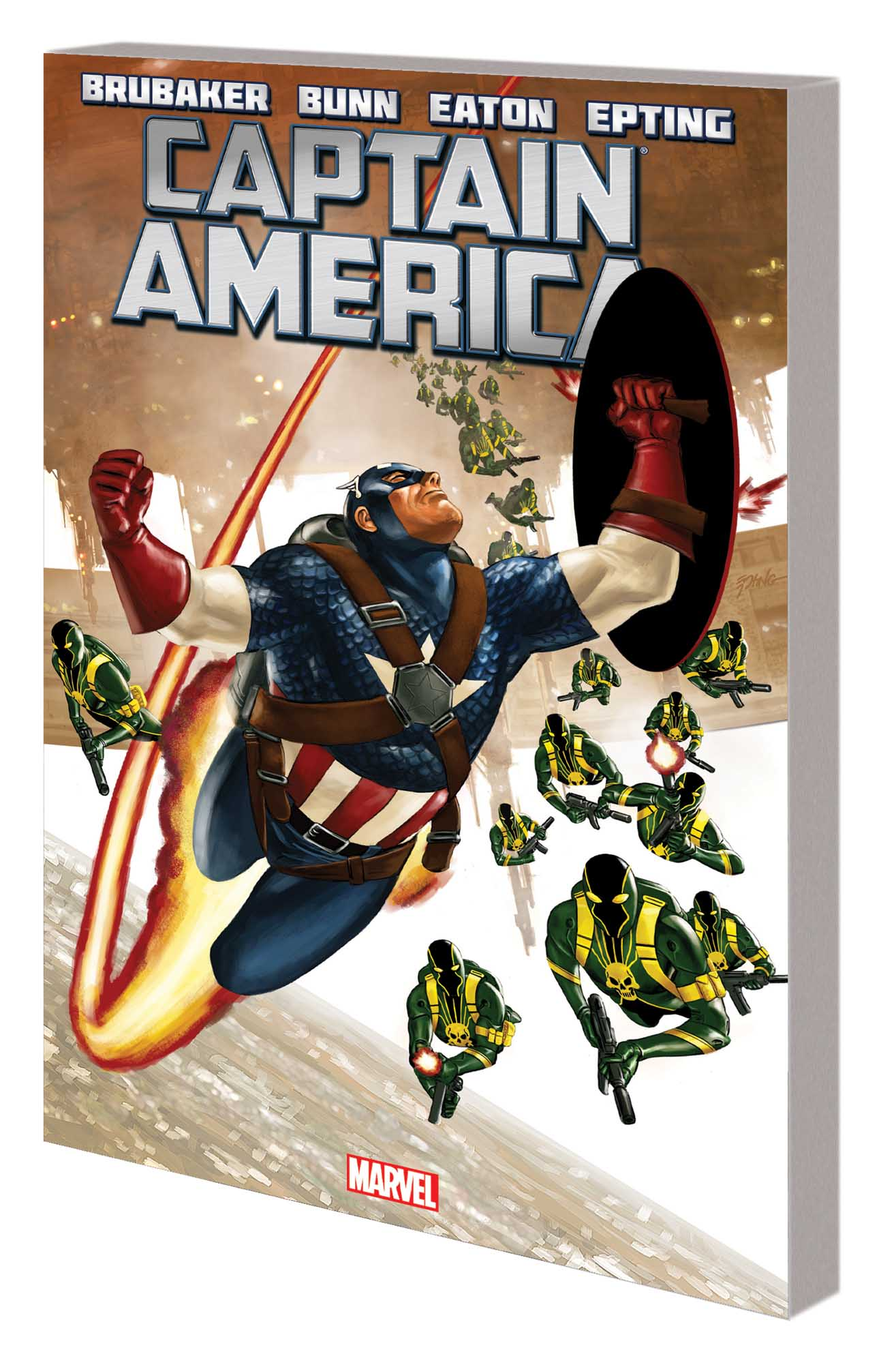 CAPTAIN AMERICA BY ED BRUBAKER VOL. 4 TPB (Trade Paperback)