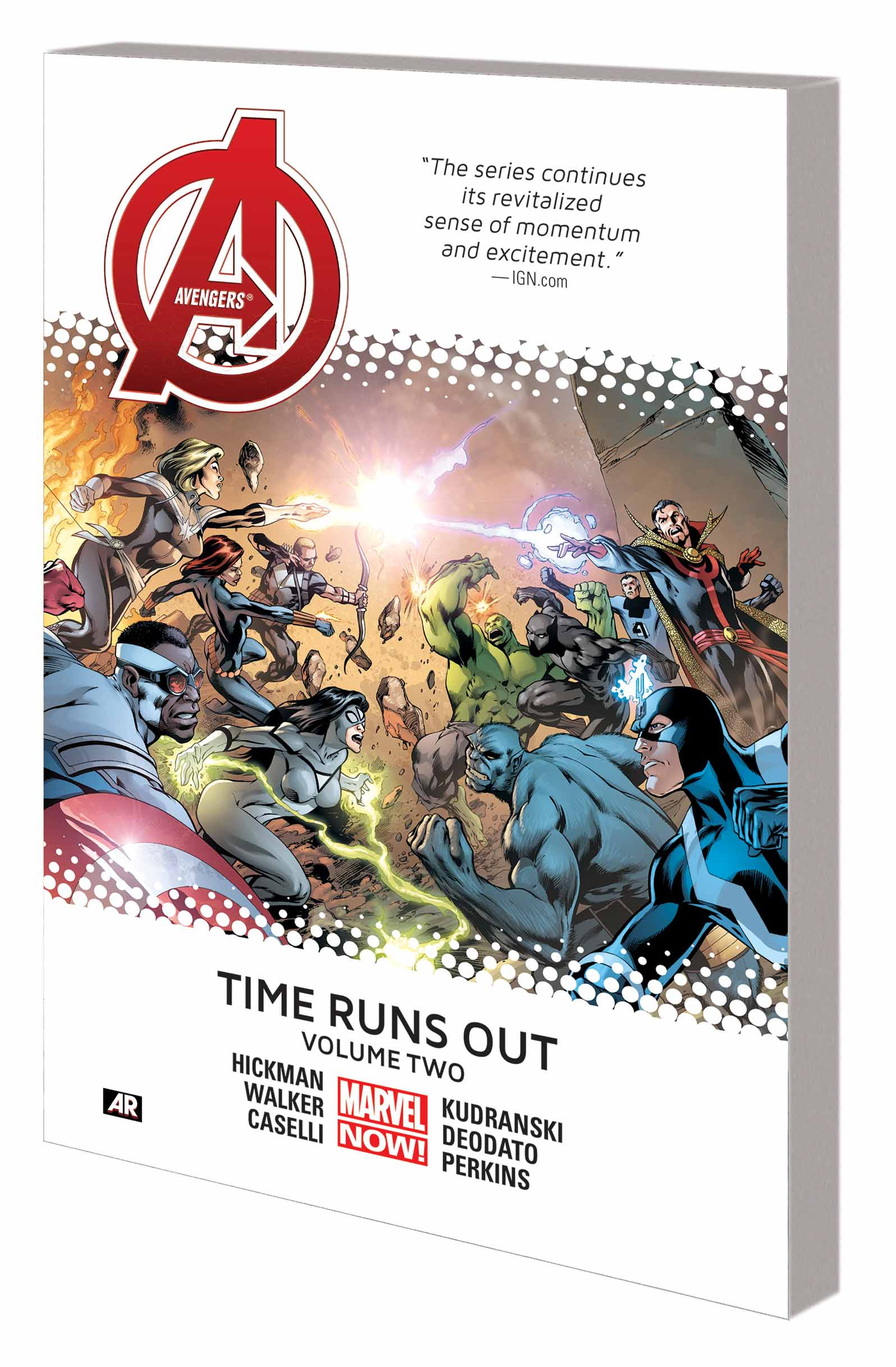 Avengers: Time Runs Out (Trade Paperback)